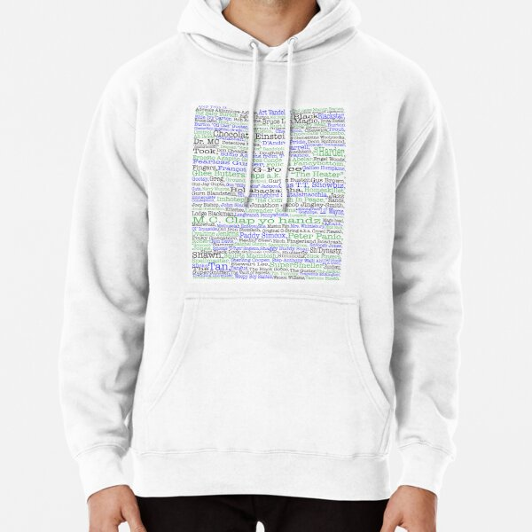 Psych tv show poster, nicknames, Burton Guster Pullover Hoodie