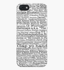 Psych tv show poster, nicknames, Burton Guster iPhone SE/5s/5 Case