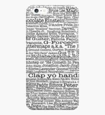 Psych tv show poster, nicknames, Burton Guster iPhone 6s Plus Case