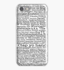 Psych tv show poster, nicknames, Burton Guster iPhone 7 Case