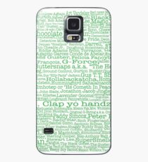 Psych tv show poster, nicknames, Burton Guster Coque et skin Samsung Galaxy