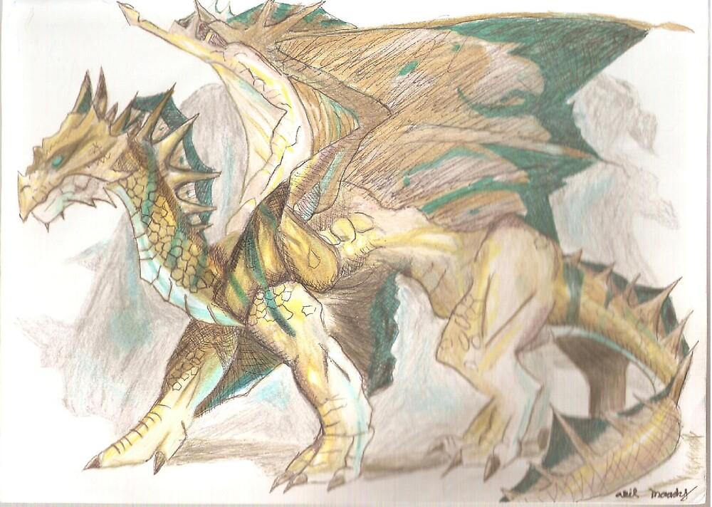 Bronze Dragon by RedAvenger25