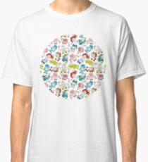 Robot Print Classic T-Shirt