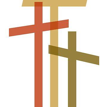 Three Crosses by msg768