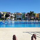 Lazy day at the pool by Janone
