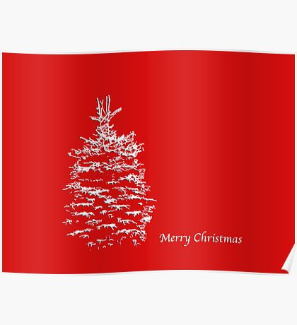 Simply Red Merry Christmas Poster