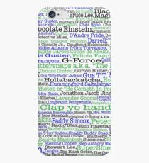 Psych tv show poster, nicknames, Burton Guster iPhone 6s Case