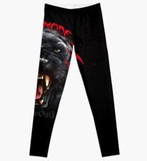 Wild Mode Black Panther Bjj, Mma, Grappling Leggings
