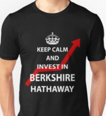 Keep Calm and Invest in Berkshire Hathaway Unisex T-Shirt