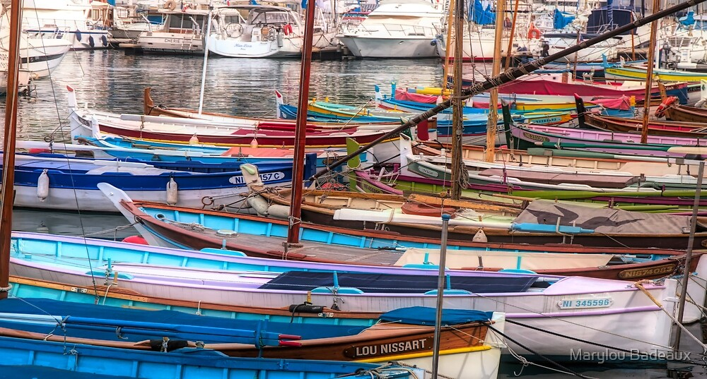 Boats Aplenty by Marylou Badeaux