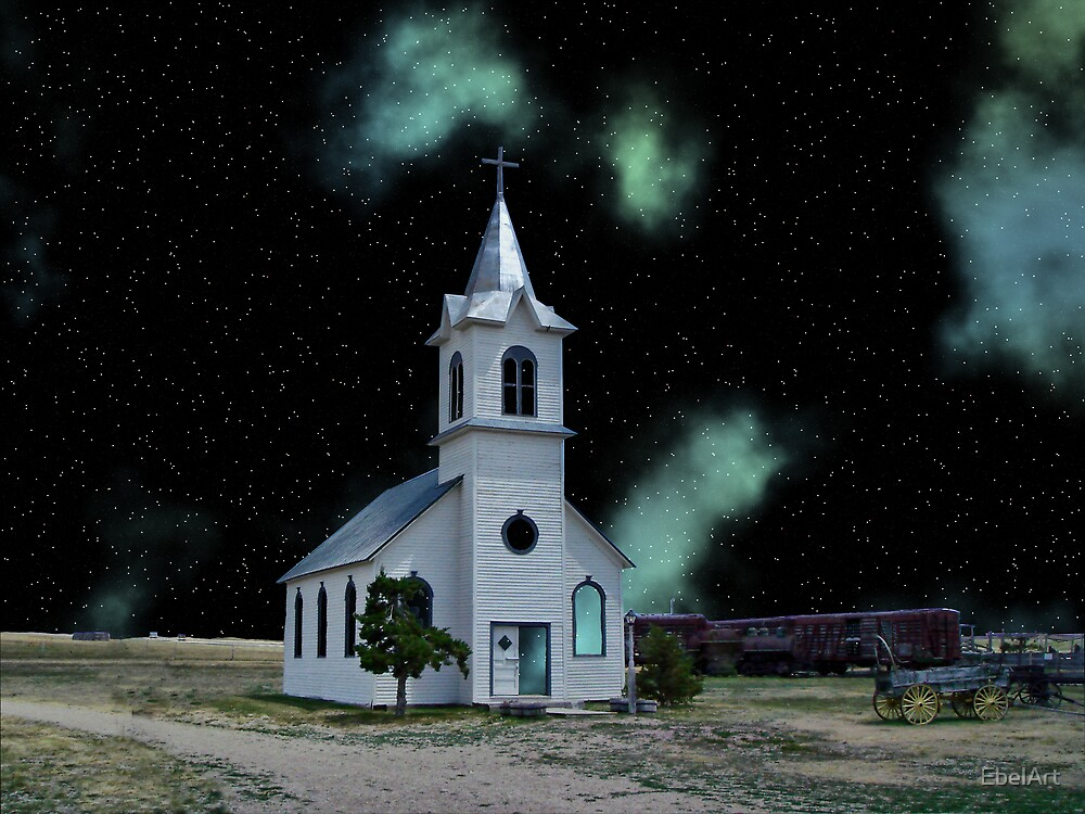 The Cosmic Church by EbelArt