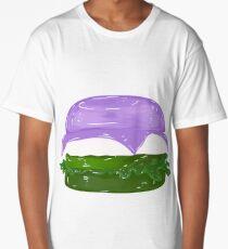 Gender Queer Burger Long T-Shirt