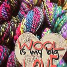 Wool is my big love von Edith Handelsmann