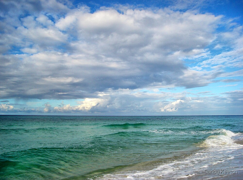 Sky & Sea by Sandy Keeton