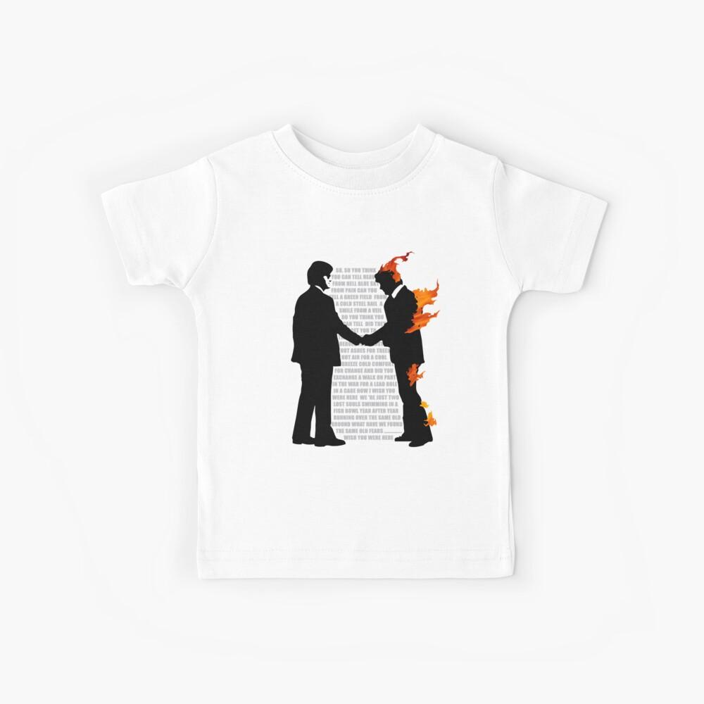 Ich wünschte du wärst ..... Kinder T-Shirt