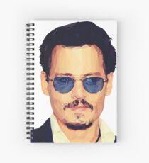 Cuaderno de espiral Johnny Depp