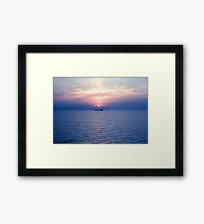 Lake Superior at rest Framed Print