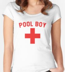 ec933387001f Pool Boy Women s Fitted Scoop T-Shirt