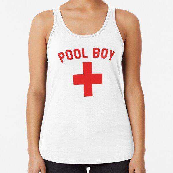 Pool Boy Racerback Tank Top