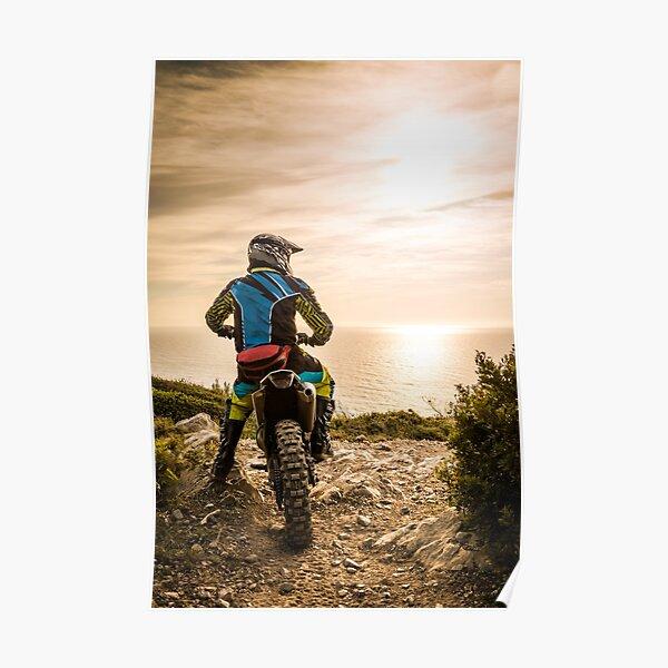 Cycliste enduro Poster
