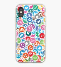 Social networks iPhone Case