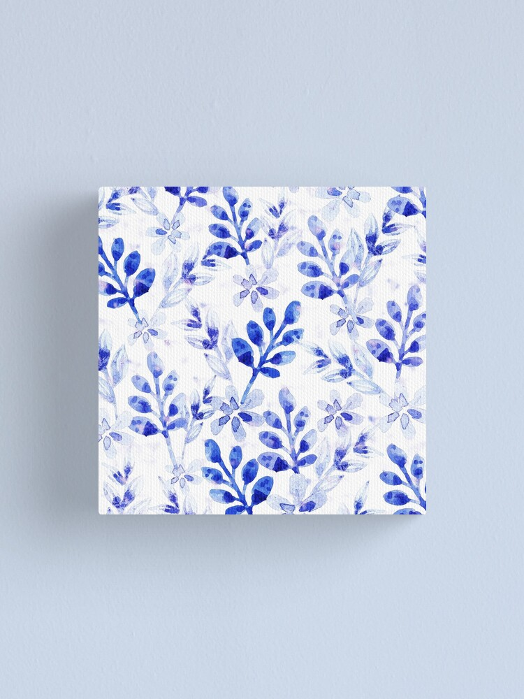 Alternate view of Watercolor Floral VVII Canvas Print