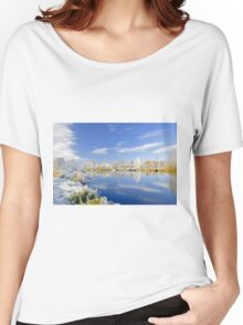 Burton's Wintry River Trent  Women's Relaxed Fit T-Shirt