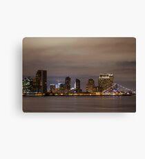 San Diego Skyline - 2 ©  Canvas Print