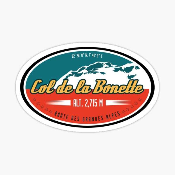 Col de Bonette T-Shirt + Sticker - Route des Grandes Alpes Sticker
