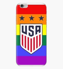 USWNT logo pride  iPhone Case