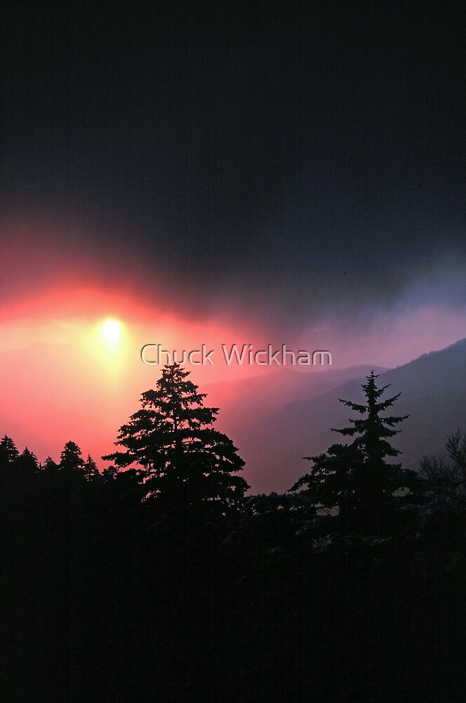 SUNRISE, GREAT SMOKY MOUNTAINS NP by Chuck Wickham