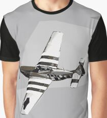 P-51D Mustang warbird 2 Graphic T-Shirt