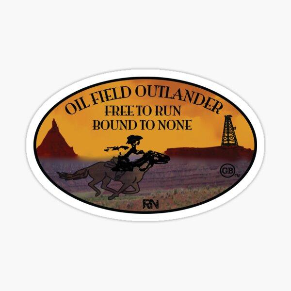 Oilfield Outlander Sticker