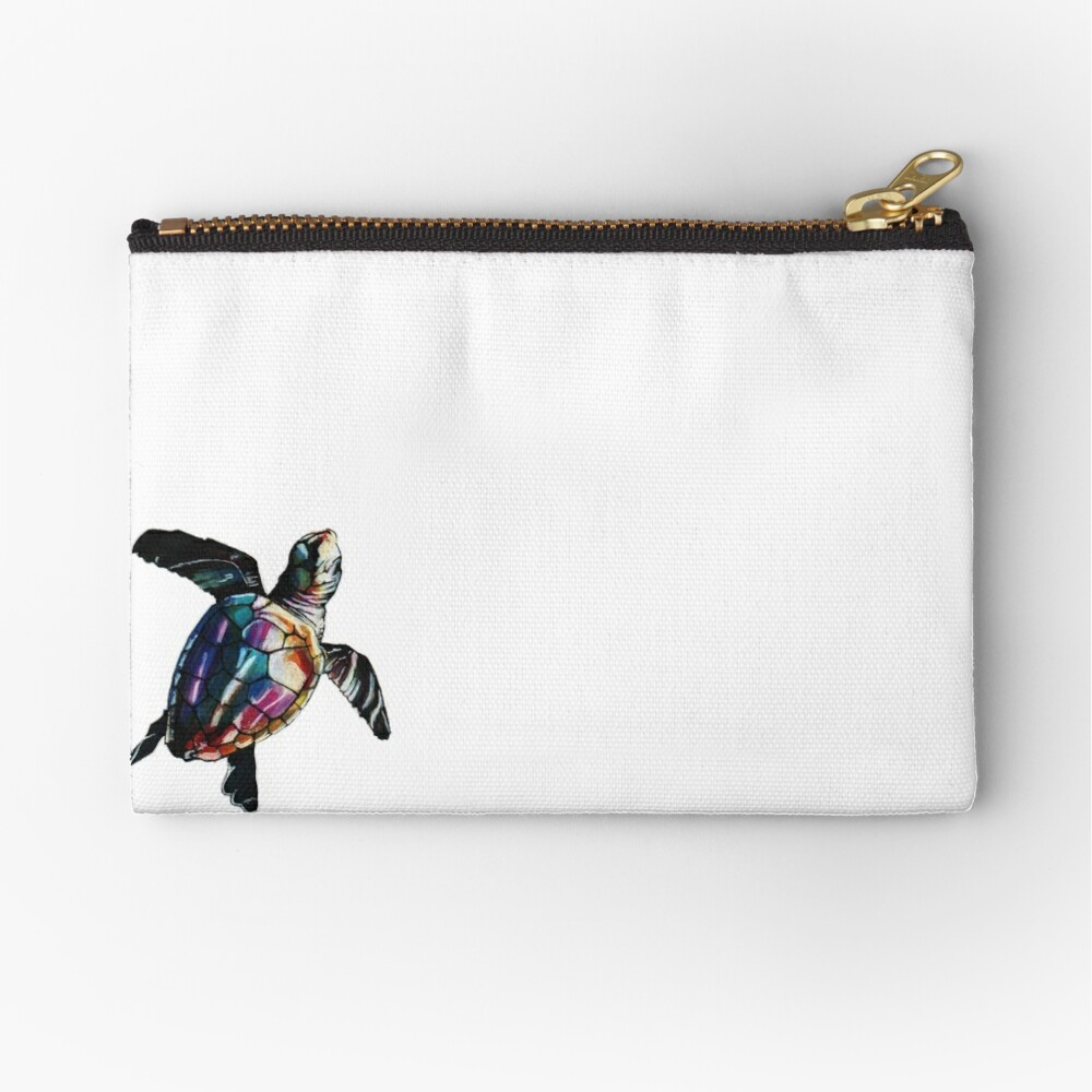 Sea Turtle Zipper Pouch