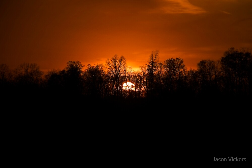 West Virginia Sunset by Jason Vickers