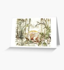 Diplodocus Greeting Card