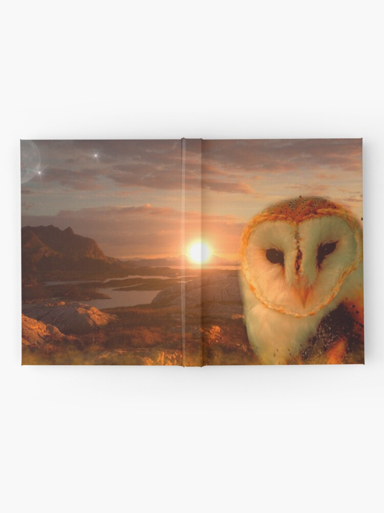 Alternate view of owls soul Hardcover Journal