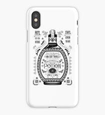 Legend of Zelda Red Potion Geek Line Artly iPhone Case/Skin