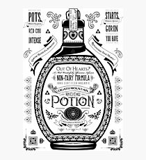 Legend of Zelda Red Potion Geek Line Artly Photographic Print