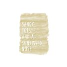 «Sandy toes and a Sunkissed nose» de happyyakk
