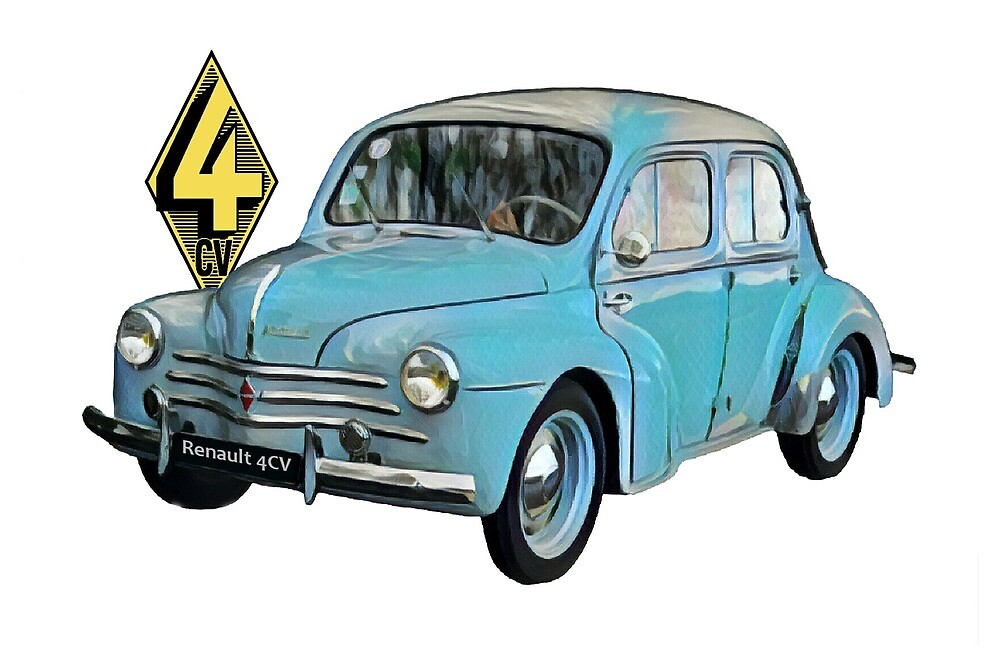 Renault 4CV Vintage by Misc72