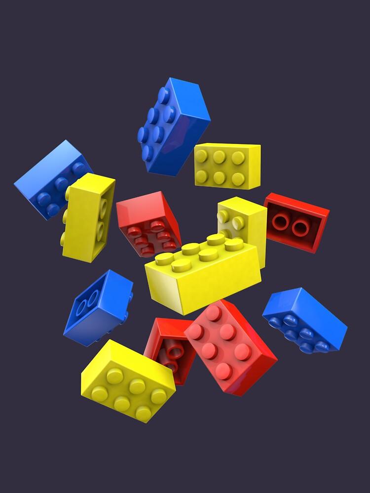 Falling Toy Bricks by chwatson