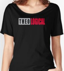 NEW DK926 Theo Logical New Product Women's Relaxed Fit T-Shirt