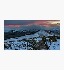 The Great Ridge from Losehill to Mam Tor Photographic Print