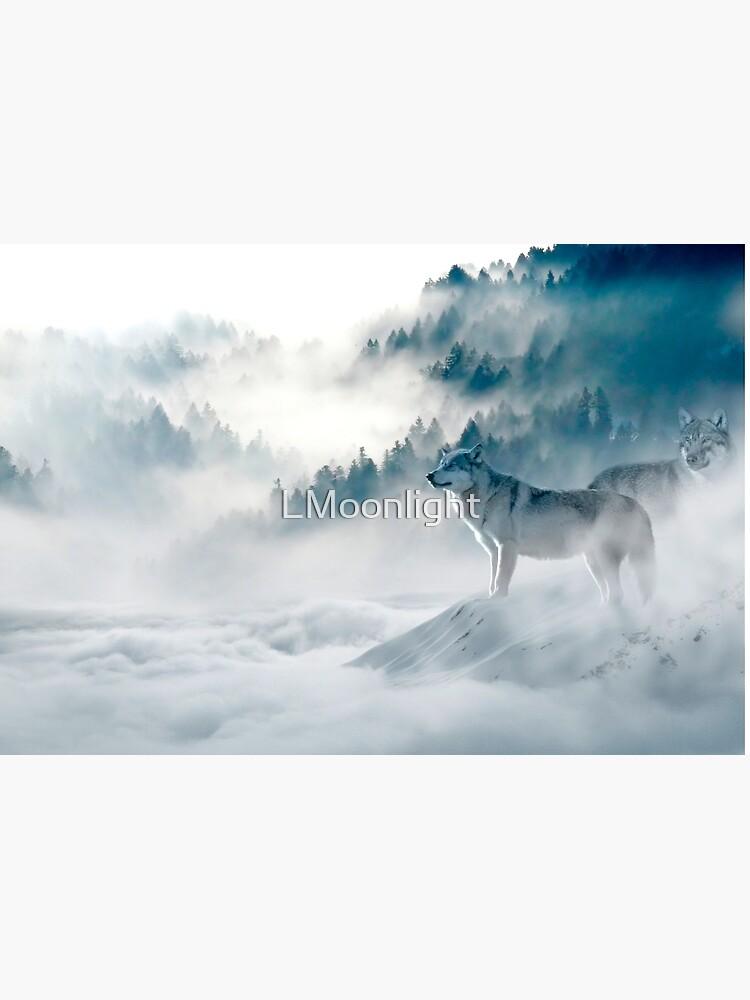 Wölfe im Nebel von LMoonlight