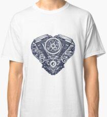 Cyberpunk heart Classic T-Shirt
