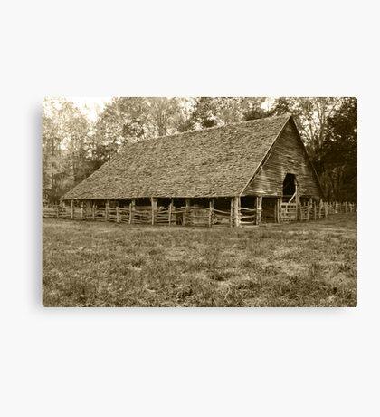 Enloe-Floyd Barn Canvas Print