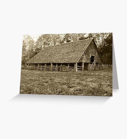 Enloe-Floyd Barn Greeting Card