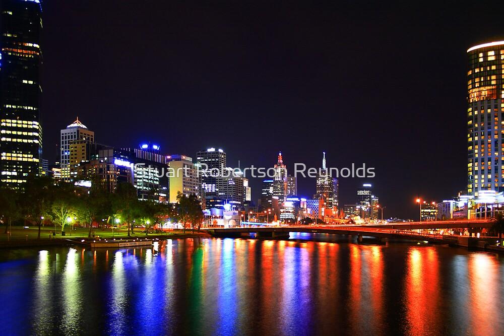 Melbourne on the Yarra by Stuart Robertson Reynolds