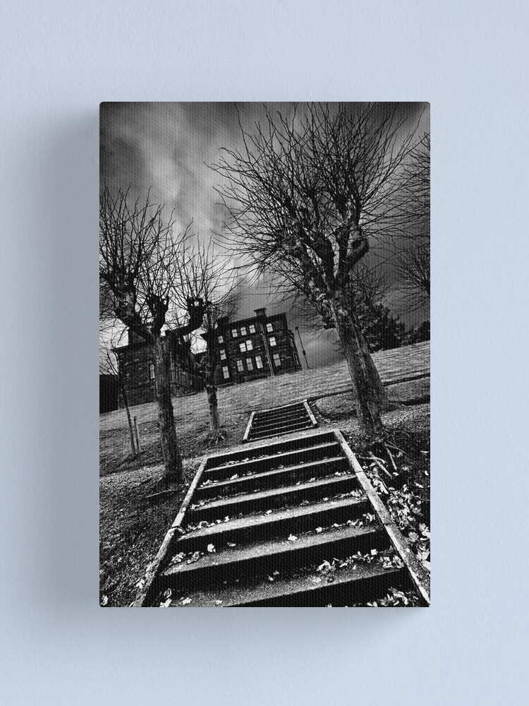 Alternate view of Haunted House Canvas Print